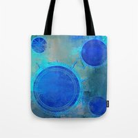 nautical Tote Bags featuring Nautical by JuniqueStudio