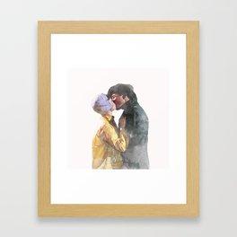 Singin' in the Rain - Watercolor Framed Art Print