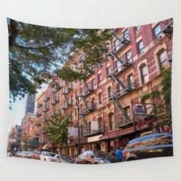 Lower eastside new york Wall Tapestry