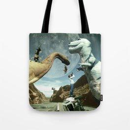 Dinosaur Road Trip Tote Bag