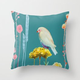 en chemin Throw Pillow
