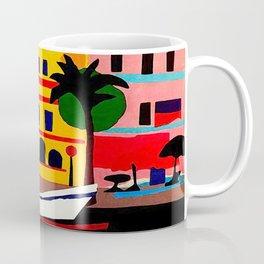 Curacao Vintage Travel Poster Coffee Mug