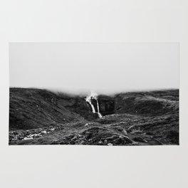 Misty waterfall Rug
