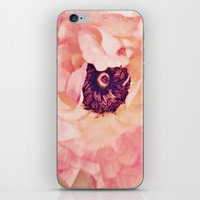 peony iPhone & iPod Skins featuring Peony by Ameliamiller