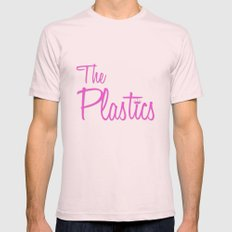 The Plastics - from the movie Mean Girls Light Pink MEDIUM Mens Fitted Tee
