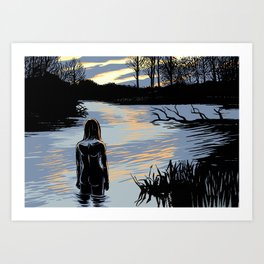 The Sunrise Art Print