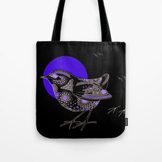 Bush Wren Xenicus Longipes Tote Bag