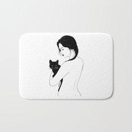 Cat Lover Bath Mat