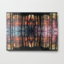 Sunset onto of Sunset Metal Print