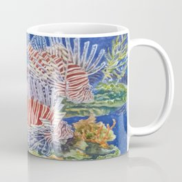 Red Lionfish Coffee Mug