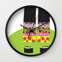 Out and About Wall Clock