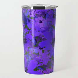 Heavenly Blue Garden Travel Mug