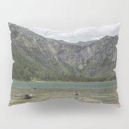 Avalanche Lake No. 2 - Glacier NP Pillow Sham