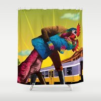 passion Shower Curtains featuring Passion by Pierre-Paul Pariseau