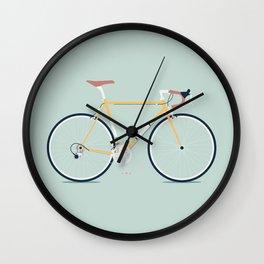 My Bike Yellow Wall Clock