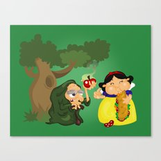 Snow White (witch) Canvas Print