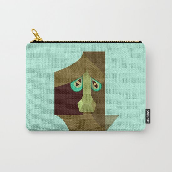 One treant face Carry-All Pouch