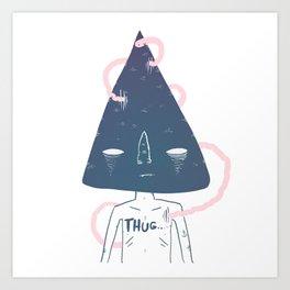 thug... Art Print