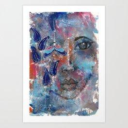 Come Through 2 Art Print