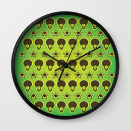 renegades of funk background Wall Clock