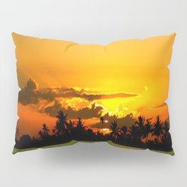 PADDY FIELDS AT SUNSET Pillow Sham