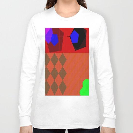 Akai Michin Dachi Long Sleeve T-shirt