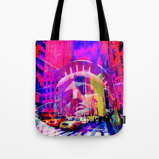 Liberty in New-York Tote Bag