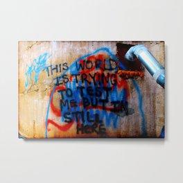 Urban Wisdom Two Metal Print
