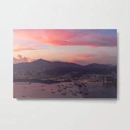 HONG KONG 05 Metal Print
