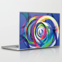 totem Laptop & iPad Skins featuring TOTEM by RAW-CUT