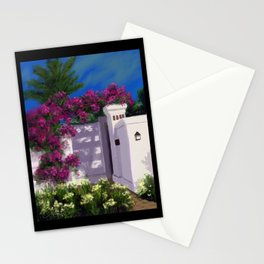 Santa Barbara Bougainvillea DP150606a Stationery Cards