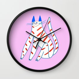 Kitty Bae Wall Clock