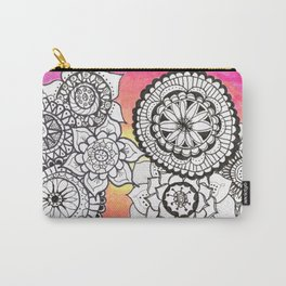 Sunset Mandalas Carry-All Pouch