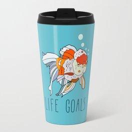Life Goals Travel Mug