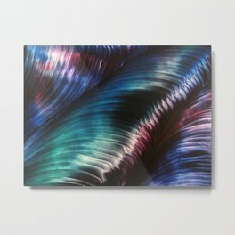 Northern Lights Shimmer Metal Print