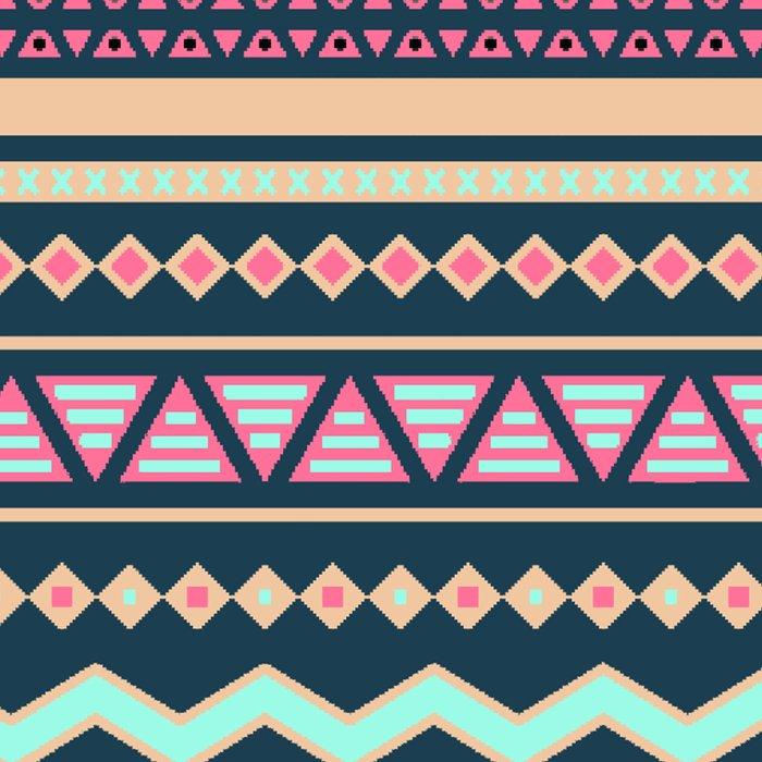 Colorful Aztec Tribal Pattern Leggings