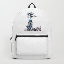 Luminous Emu Art Backpack