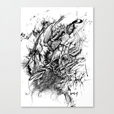 Aggresive Canvas Print