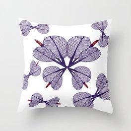 Miranda Butterflies Throw Pillow