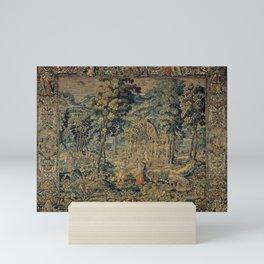 Brussels Manufactory - Vertumnus and Pomona (1570 - 1600) Mini Art Print