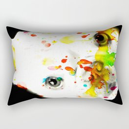 Color Me Frenchie Rectangular Pillow