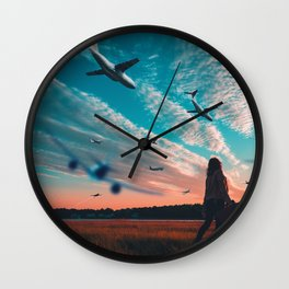 au revoir Wall Clock