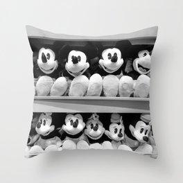 Mickey Mouse Mania! Throw Pillow