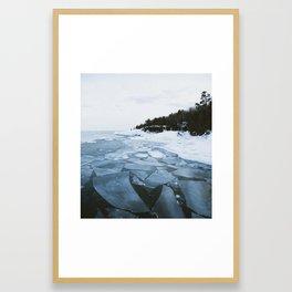 Presque Isle | Marquette, Michigan | Upper Peninsula | John Hill Photography Framed Art Print