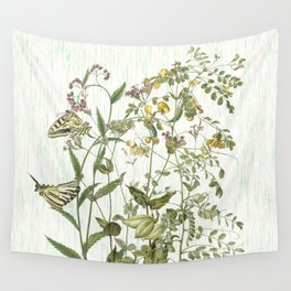 Cultivating my mind garden Wall Tapestry