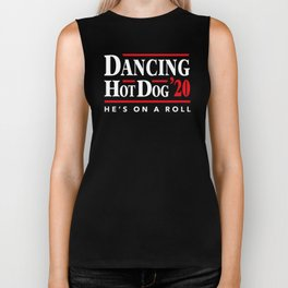 Dancing Hot Dog 2020 Biker Tank