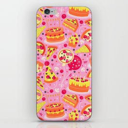 Pizza Party iPhone Skin