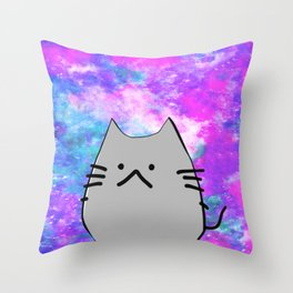 cat 619 Throw Pillow