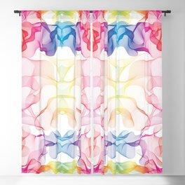 Rainbow's smoke Blackout Curtain