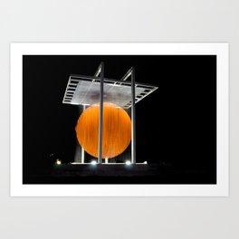 Caracas´ Sphere Art Print